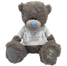 Me to You Non Personalised Bear - Best Dads get Promoted £ 19.99