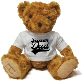 Henry Non Personalised Bear - Super Dad