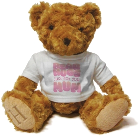 Henry Non Personalised Bear - Bear Hugs for Mum