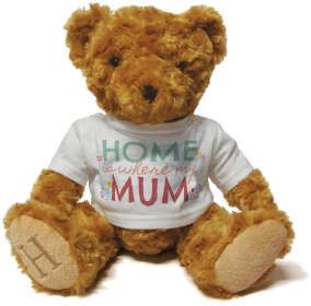 Henry Non Personalised Bear - Home is where my Mum is