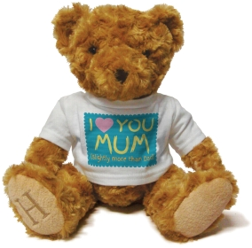 Henry Non Personalised Bear - I Love You Mum