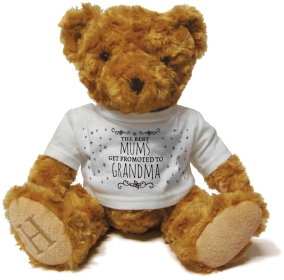 Henry Non Personalised Bear - Mums get promoted to Grandma