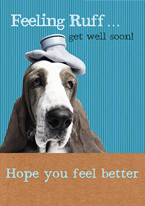 Get Well Card - Feeling Ruff