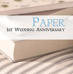 Wedding Anniversary Card - Paper