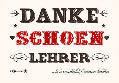 how to say no thanks in german