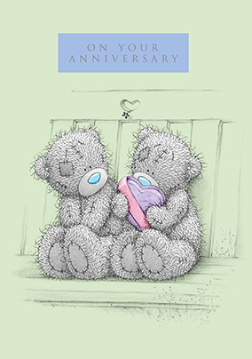 Tatty Teddy On Your Anniversary Card