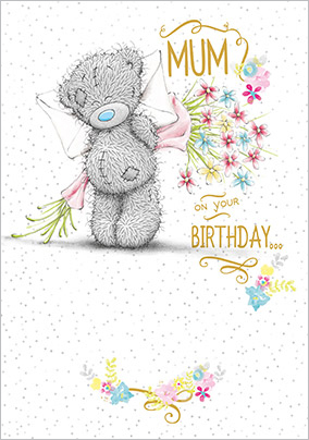 Me To You Tatty Teddy Mum Birthday Card