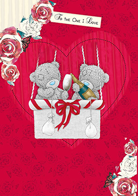 One i love i love you cards funky pigeon me to you tatty teddy birthday card to the one i love bookmarktalkfo Image collections
