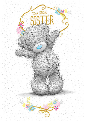 Special Sister Me To You Tatty Teddy Card