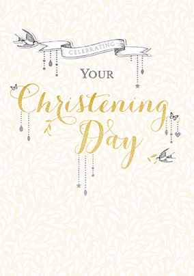 Celebrating your Christening Card