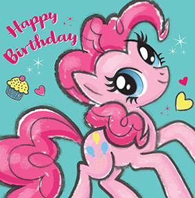 My Little Pony Cards  Kids Birthday Cards  Funky Pigeon