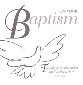 Baptism Cards | Funky Pigeon