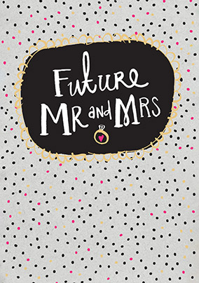 Future Mr & Mrs Engagement Card
