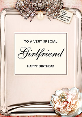 Birthday cards for girlfriend funky pigeon love labels birthday card girlfriend bookmarktalkfo Image collections