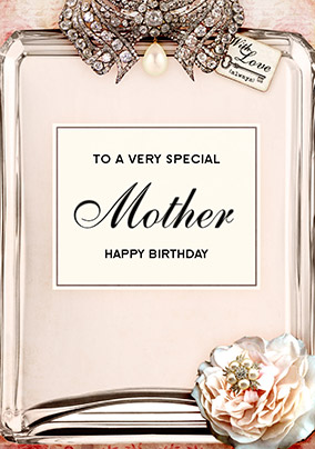 Love Labels Birthday Card - Mother