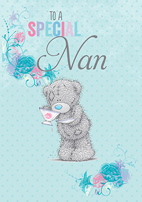 Special Nan Me to You Birthday Card