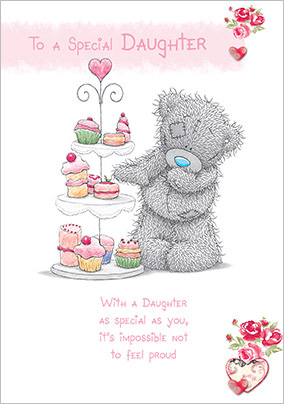 Special Daughter Me to You Birthday Card