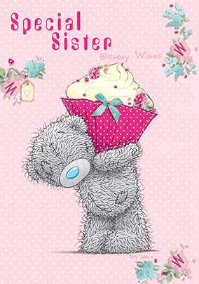 Special Sister Me to You Birthday Card