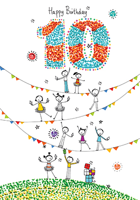 Happy 10th birthday cards images birthday cards ideas birthday cards 10th birthday cards funky pigeon happy 10th birthday card sugar pips bookmarktalkfo images bookmarktalkfo Gallery
