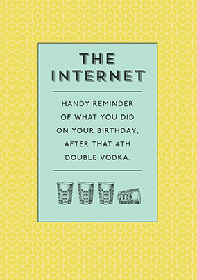 The Meaning of the Internet Birthday Card