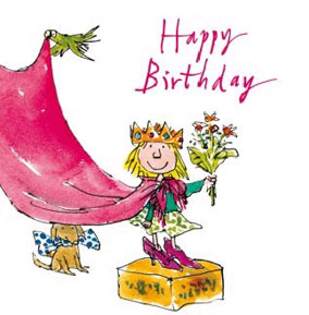 Quentin Blake Greetings Card For Kids