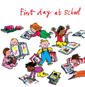 Quentin Blake - First Day At School