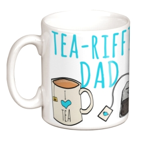 Non Personalised Mug - Tea-riffic Dad £ 7.99