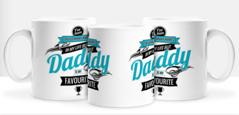 Non Personalised Mug - Daddy is my Favourite