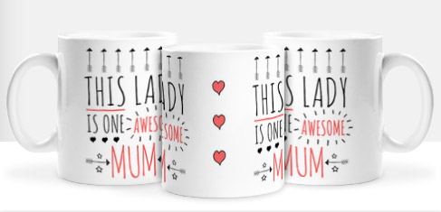 Non Personalised Mug - One Awesome Mum