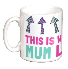 Non Personalised Mug - Awesome Mum