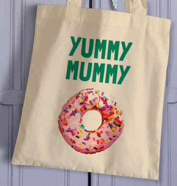 Non Personalised Tote Bag - Yummy Mummy £ 9.99