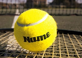 Game Set Match - Tennis Ball