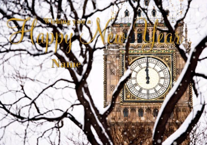 Abacus Photo - Big Ben New Year