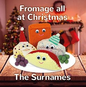 Fromage All The Family Personalised Christmas Card