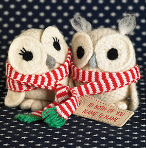 Born to Stitch Christmas Card - To Both of You at Christmas