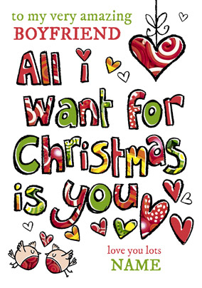 Sunnyside Up - Christmas Card All I want is You