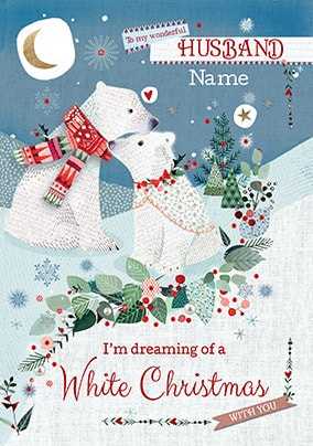 Husband Christmas Cards Funky Pigeon
