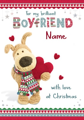 boofle christmas card brilliant boyfriend at christmas - Boyfriend Christmas Card