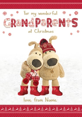 Boofle - Wonderful Grandparents at Christmas