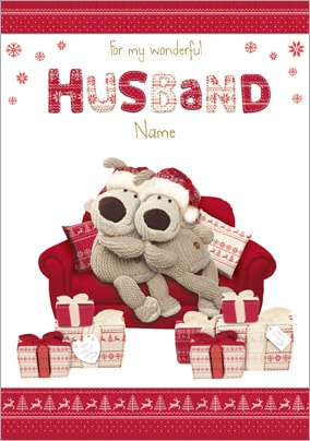 Husband Christmas Cards.Husband Christmas Cards Funky Pigeon