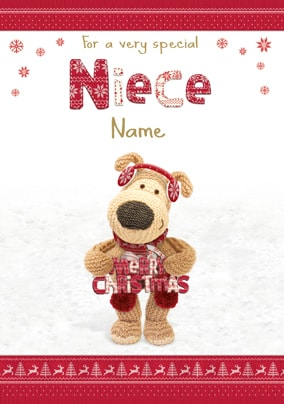 Boofle - For a Special Niece at Christmas