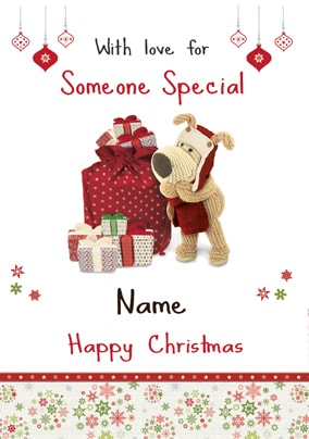 Boofle - Someone Special Christmas Card