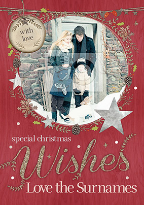 Winter Wonderland - Special Wishes Christmas Card