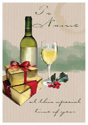 Christmas Traditional Drink White Wine