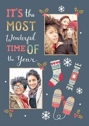 It's the Most Wonderful Time of the Year Photo Card