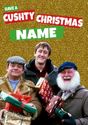 Cushty Christmas - Only Fools & Horses Personalised Card