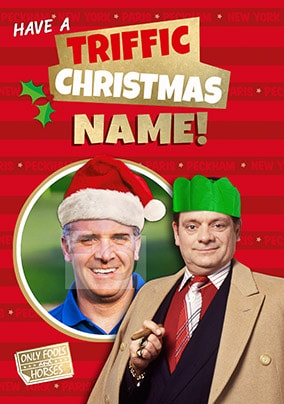 Triffic Christmas - Only Fools & Horses Photo Card