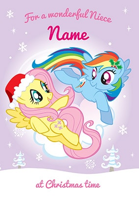 My Little Pony Christmas.My Little Pony Rainbow Dash Special Daughter