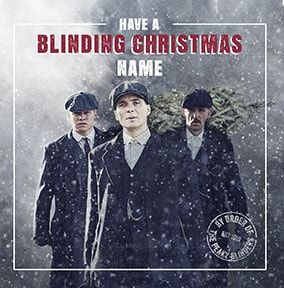Have a Blinding Christmas Personalised Card