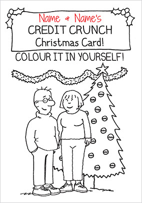Humour Christmas Credit Crunch - Emotional Rescue